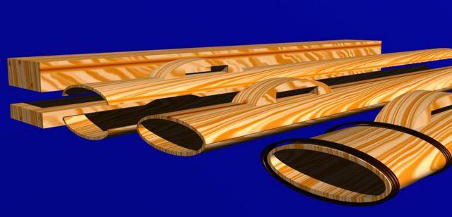 bauanleitung f r eine fr hmittelalterliche schwertscheide. Black Bedroom Furniture Sets. Home Design Ideas