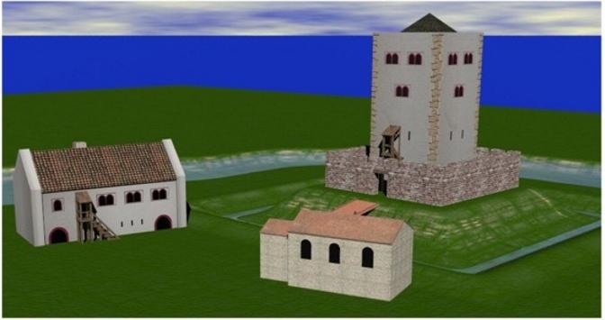 Entstehung einer Turmhügelburg