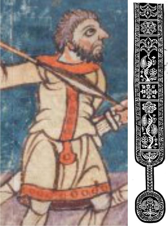 Darstellung des Stuttgarter Psalters im Vergleich mit spätantiker Clavi
