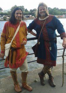 Gawan Dringenberg (Rechts) und ich